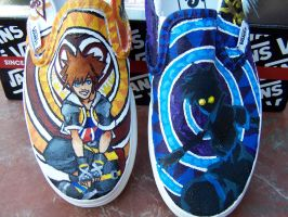 Sora Shoes by NatziYeti