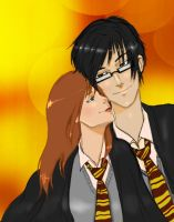 Lily and James by phantomawesomeness
