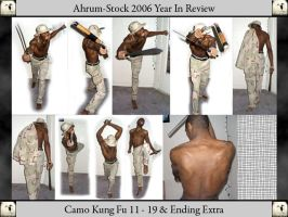 Camo Kung Fu 06 YIR 2 by Ahrum-Stock