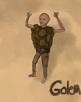 Day 07- Golem by Airpuppet
