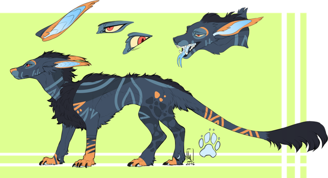 2nd Vernid adoptable. by Interess