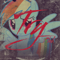 P!nk - Try (Rainbow Dash) by AdrianImpalaMata