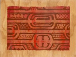 Red and Brown Tribal by Sinitalela