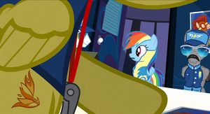 strait from the show screen shot of spitfires CM. by lordkalem