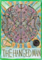 12 - The Hanged Man by andraaaaa