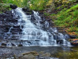 Ricketts Glen State Park 13 by Dracoart-Stock