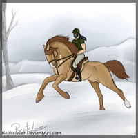 Playing In The Snow by ReoiteLover