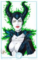 Maleficent by W-arting