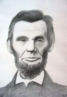 Abraham Lincoln by Th3Pr0f355ion41