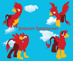 Robston Redfeather by thegriffin88