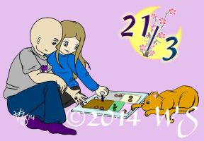 21-3-14 - Game Set and Match by kittyocean