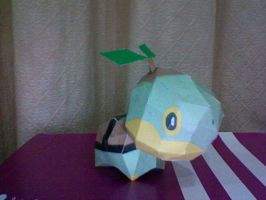 Papercraft: Turtwig by icepisces32