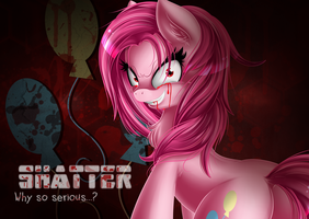 Pinkamena poster. by KnifeH