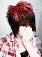 my new hair 7-8-10 by EmoSkater4Life