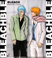 Grimmjow - Ichigo Fashion Shot by klorma