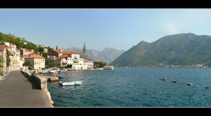 Perast City Panorama - Montenegro by skarzynscy
