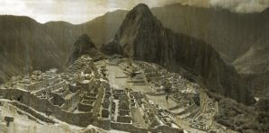 Machu Pichu Old Photo by super-frankie8