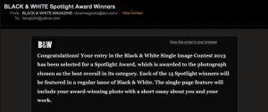 BW Magazine Award by Hengki24
