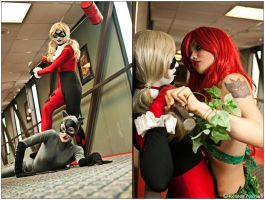 Gotham: Girl Fights by CosplayerWithCamera