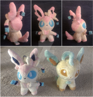 Sylveon/Ninfia pokedoll by ballerbandgeek