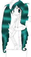 Miku Lineart W.I.P by ice---tea