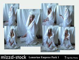 Lemurian Empress Pack 1 by mizzd-stock
