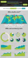 Infographic Elements and Template v10 by CursiveQ-Designs