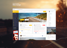 Gezimanya Web Design New Look by vasiligfx