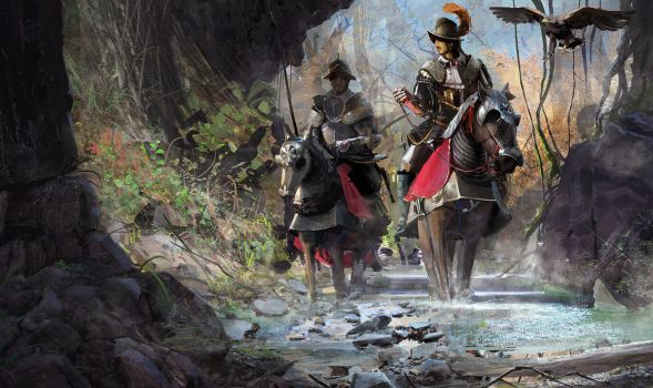 Conquistadors by RhysGriffiths