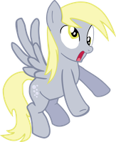 Derpy Hooves DERP vector by P0nies