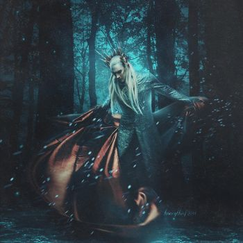 Thranduil by katerinakh