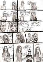Hetfield vs Mustaine by Red-Szajn