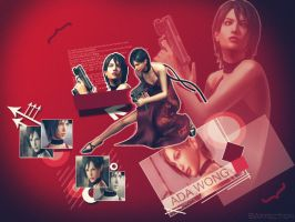 Ada RE4_Wallpaper by BlacknessAffection