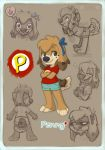 Tiny penny ref by OnJedone