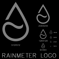 Rainmeter logo contest entry by duckne55