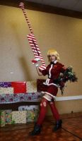 Christmas Blood Seras by Leaviel
