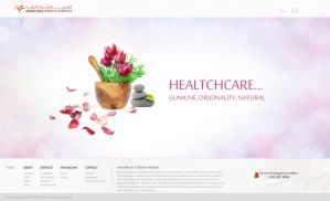 Andalusia Web site - Healthca by mohamed-amin
