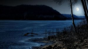 Moonlight on the Water by TimLaSure