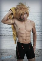 Swimming Anime Cosplay by Jrzil4shizzle