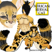 African Serval :IMVU: by twistedlove