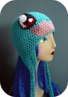 Custom Squirtle Beanie by AAMurray