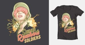 Super Rainbow Soldiers by piece-of-kayk