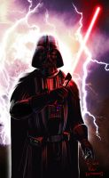 Darth Vader once again by Kitao-chan
