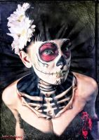 day of the dead by MarieVee