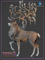 Trine3: Magical Deer Concept by nokecha