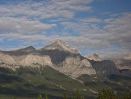 Mountain Range by RaeyenIrael-Stock