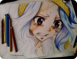 fairy tail 175 levy by Telemaniakk