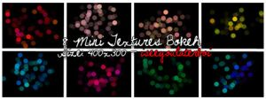Mini Bokeh Textures by Iseeyoulaterboi