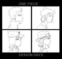 One Piece - Demon Days by alinka