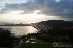 Dover from Dover Castle by DoomsdayAsteroid